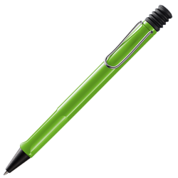 Bolígrafo Lamy Safari Green