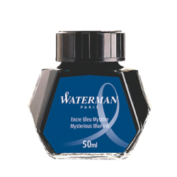 Tintero Waterman Azul Negro - 50ml