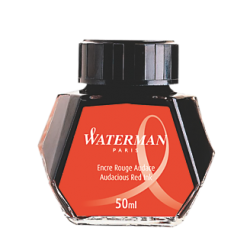 Tintero Waterman Rojo - 50ml