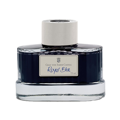 Tintero Graf Von Faber-Castell Royal Blue - 75 ml