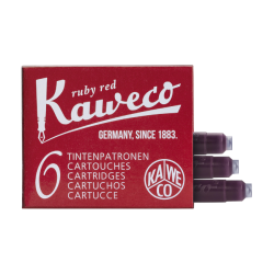 Cartuchos de Tinta Kaweco Ruby Red