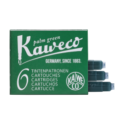 Cartuchos de Tinta Kaweco Palm Green