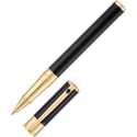 Rollerball ST Dupont D-Initial Black&Gold
