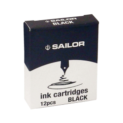 Cartuchos de Tinta Sailor Jentle Ink Negro