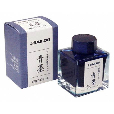 Tintero Sailor Seiboku Azul Permanente - 50 ml