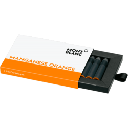 Cartuchos Montblanc Manganese Orange