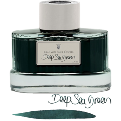 Tintero Graf Von Faber-Castell Deep Sea Green - 75 ml
